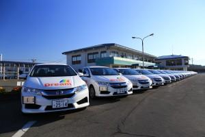 教習車一新! 昭和・須坂の両校で教習に使用されています