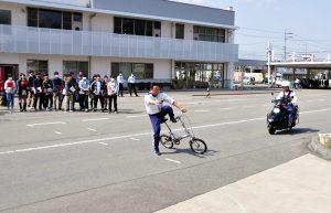 須坂高等学校交通安全教室レポート