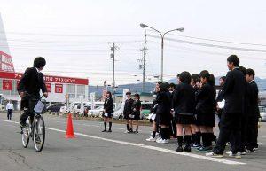 長野東高等学校交通安全教室レポート
