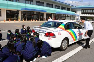 屋代南高等学校交通安全教室レポート