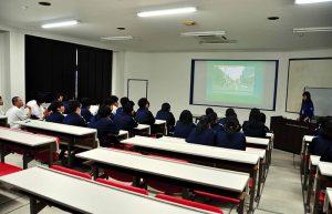 更級農業高等学校交通安全教室レポート