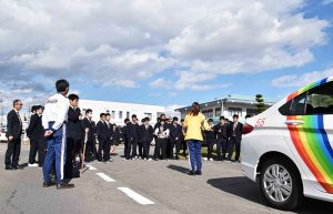 長野俊英高等学校交通安全教室レポート