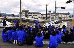 屋代高校附属中学・屋代高等学校交通安全教室レポート